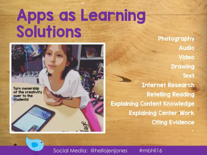 Apps as Learning