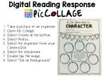 digital reading response
