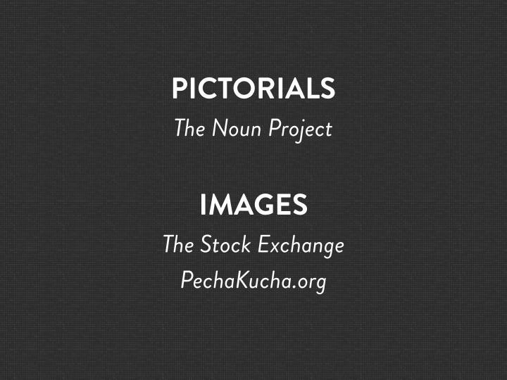PICTORIALS