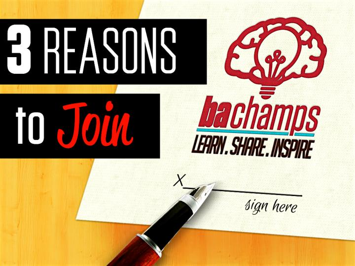 Cover 3 reasons to join