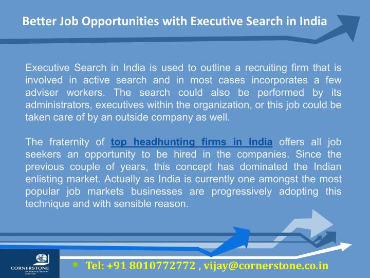 Essay on Job Opportunities at Private Sectors in India