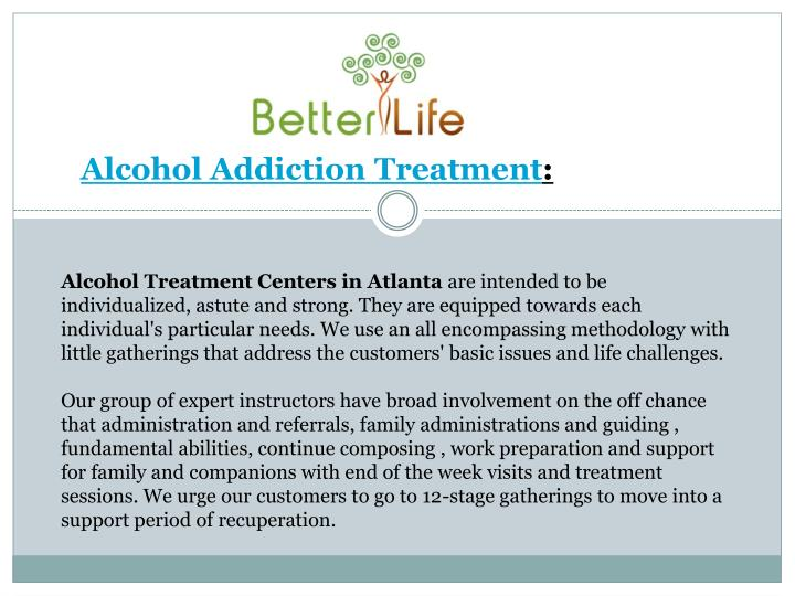 alcohol addiction powerpoint