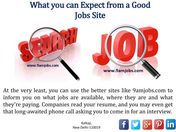 good career websites
