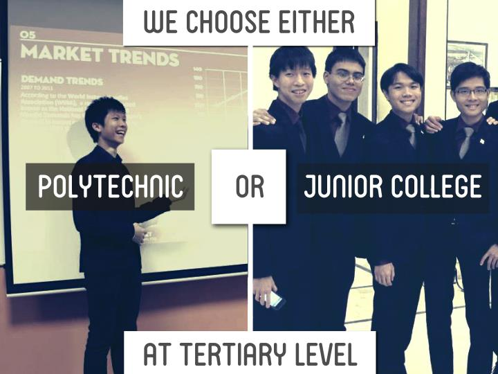 we choose either