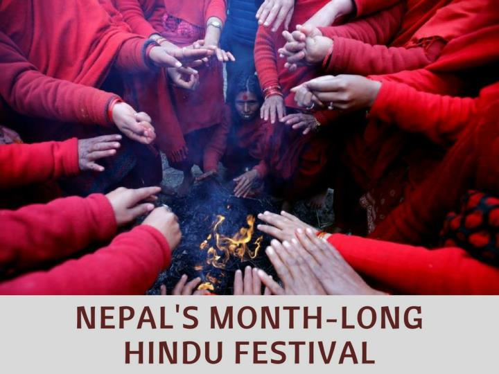 Nepal s month long hindu festival
