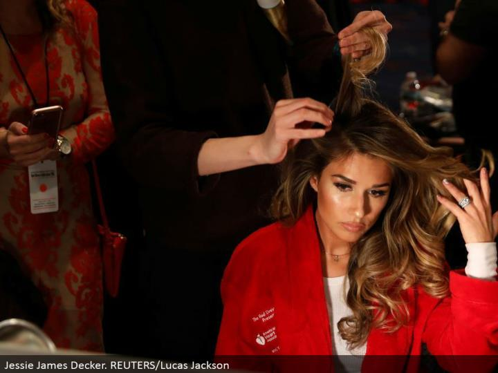 Jessie James Decker. REUTERS/Lucas Jackson