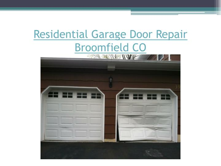 Ppt things to know before hiring garage door services for Residential garage door repair