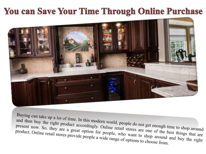 You can Save Your Time Through Online Purchase