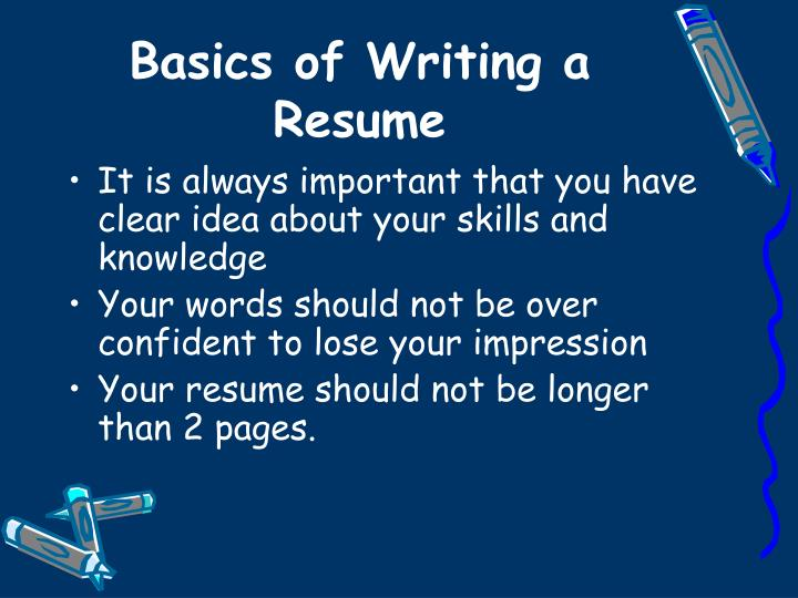 Best Words To Include And Avoid In Your Resume 2017