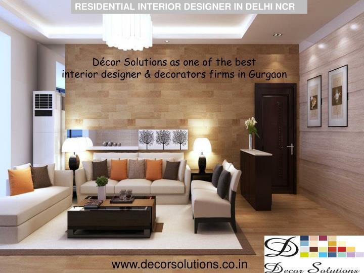 Ppt Hire Residential Interior Designer In Delhi Ncr