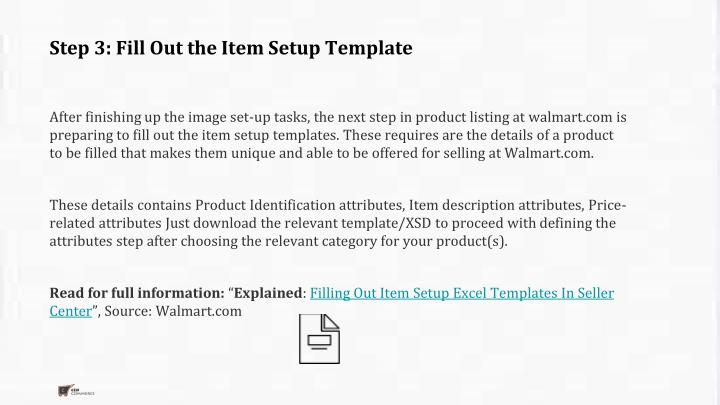 Ppt 6 steps to create a great product listing at walmart for Walmart powerpoint template