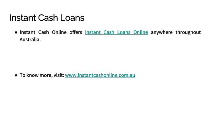 Instant Payday Advance : Ppt instant cash advance online powerpoint presentation