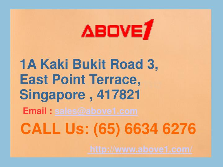 1A Kaki Bukit Road 3, East Point Terrace, Singapore , 417821