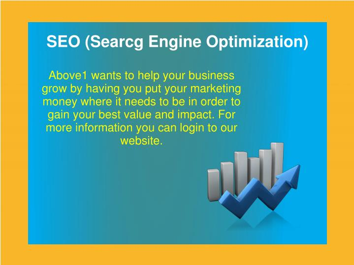 SEO (Searcg Engine Optimization)