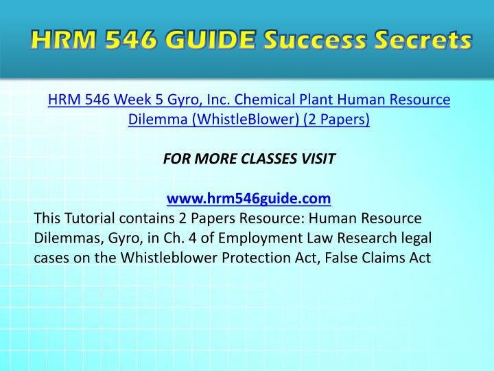 hrm 546 week 2 scenario one For more classes visit wwwhrm546cartcom resource: scenario three: cost club review the information in the scenario, located on the student website note especially the requirements that pat has defined in the e-mail prepare your materials for the memo to your boss in the scenario by reviewing the key points in ch 13-17 of your text.