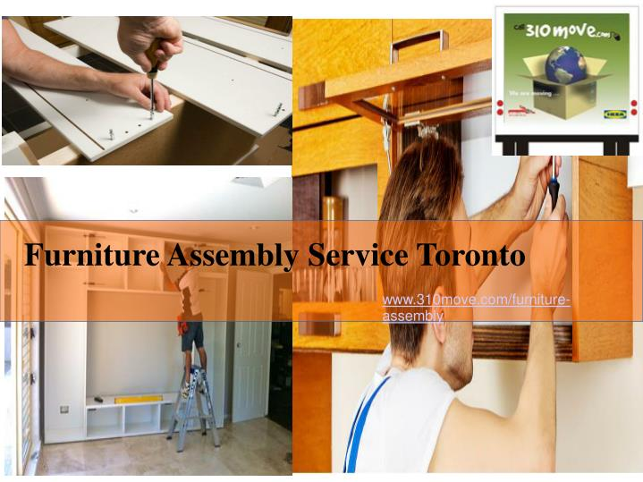 ppt furniture assembly service toronto powerpoint. Black Bedroom Furniture Sets. Home Design Ideas