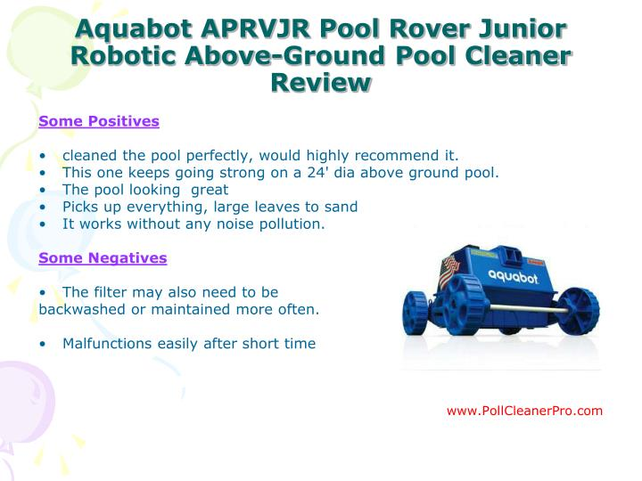 Ppt Best Pool Cleaner Guide Powerpoint Presentation Id