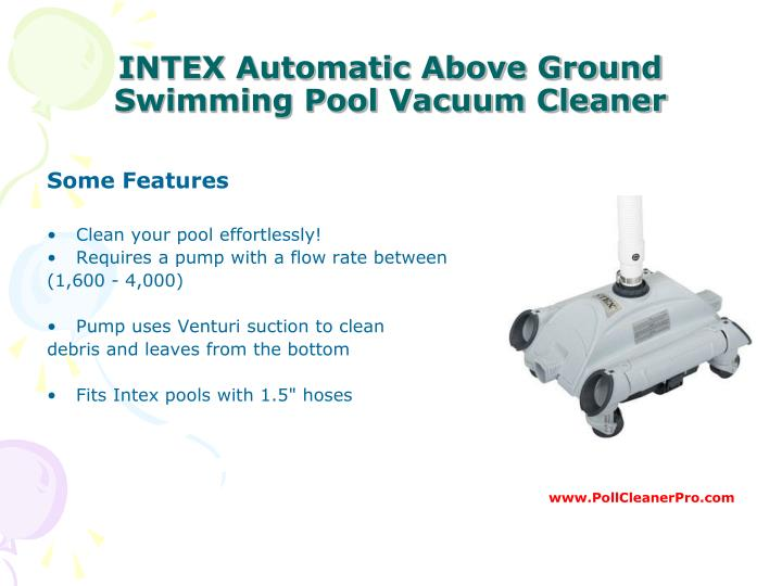 Ppt Best Pool Cleaner Guide Powerpoint Presentation Id 7515182
