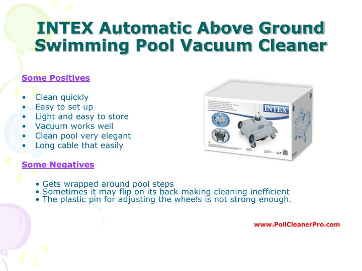 Ppt best pool cleaner guide powerpoint presentation id Best swimming pool automation system