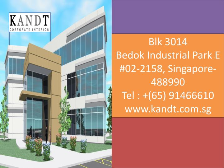Ppt Kandt Corporate Interior Design Singapore Powerpoint