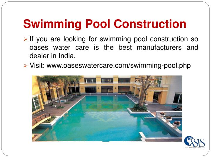 Ppt fountain manufacturers in delhi powerpoint for Swimming pool manufacturers