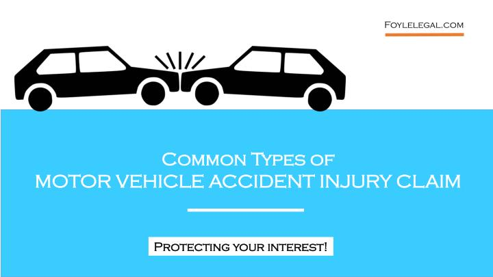 Ppt Common Type Of Motor Vehicle Accident Injury