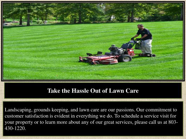 PPT - Grass Mowing Provider Lexington SC PowerPoint ...