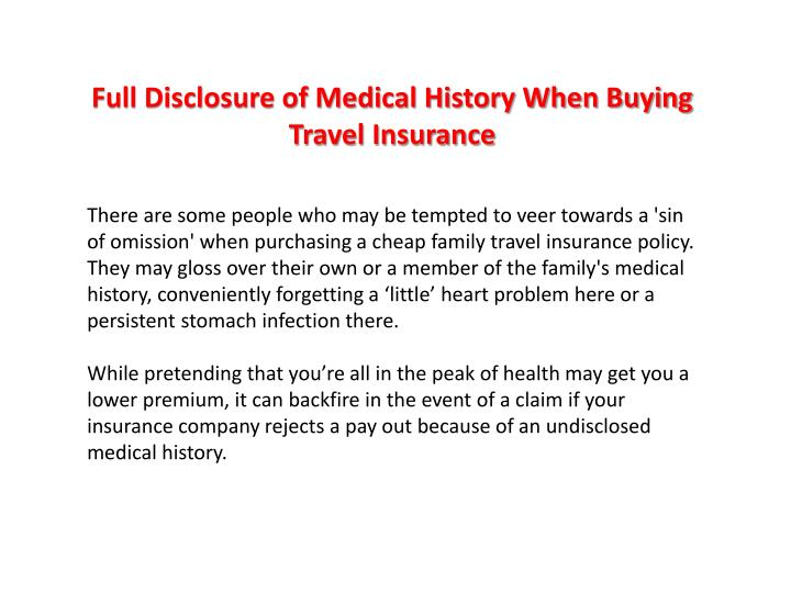 For profit medicine full disclosure