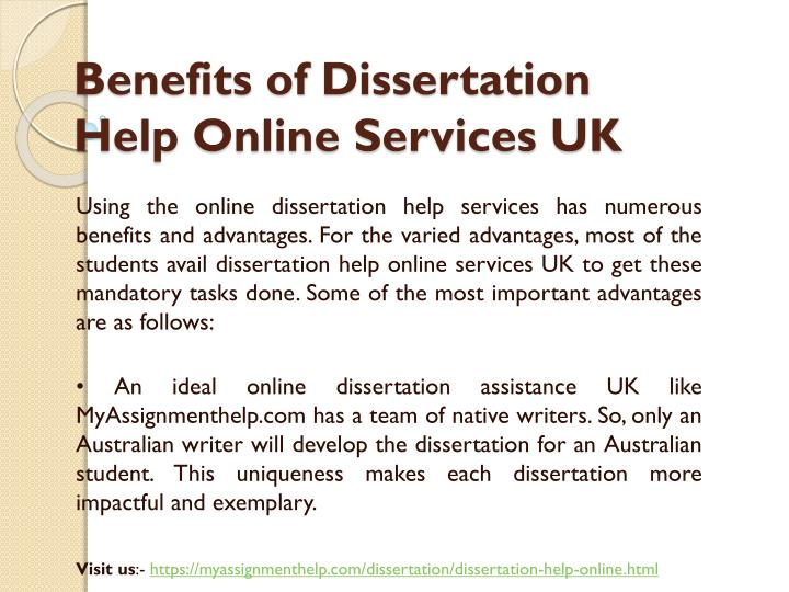 Professional dissertation writers are ready to help!