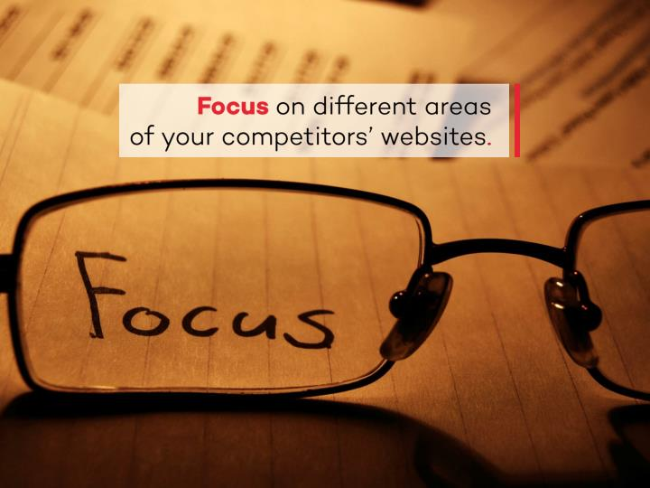 Analysis competitor s business and website public