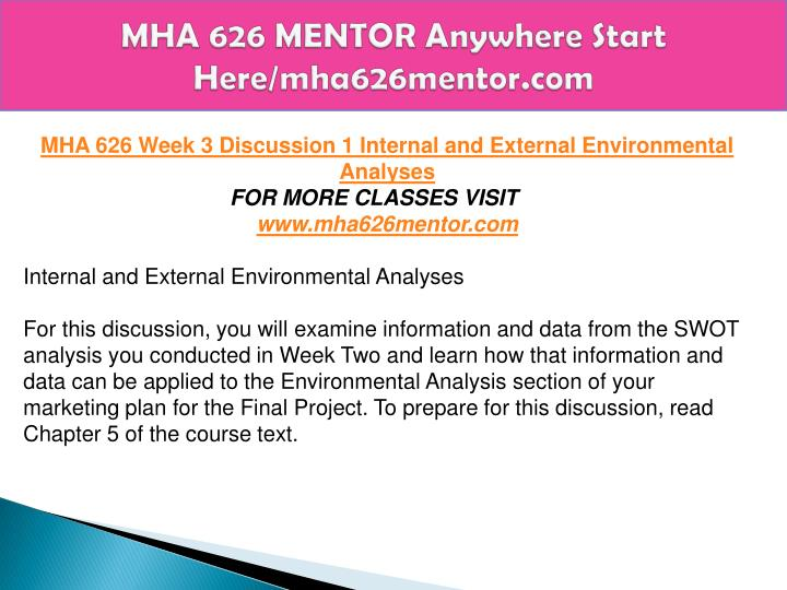 mha 626 marketing plan final paper Econ 214 exam 1 complete solutions correct answers key  mgt 401 week 5 final paper incident action plan  final paper mha 626 week 5 assignment,.