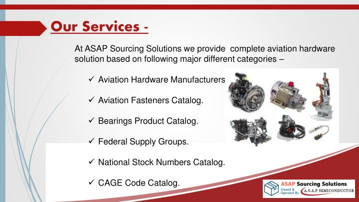 Our Services -