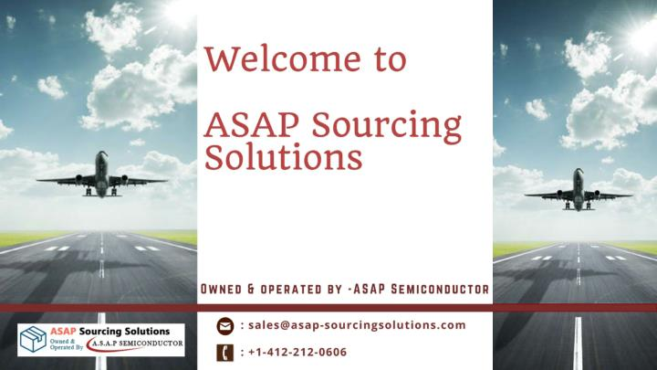 Asap sourcing solutions aviation components military hardware distributors