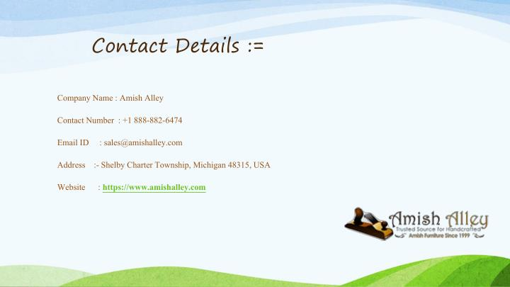 Contact Details :=