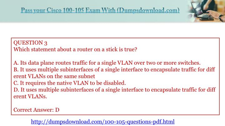 icnd1 100 105 exam questions and answers pdf