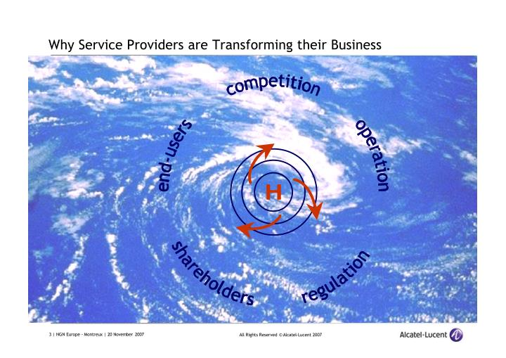 Why service providers are transforming their