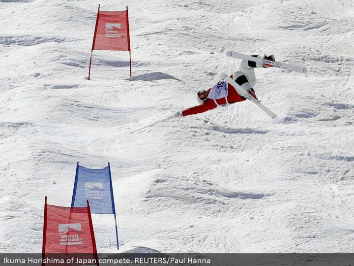 Ikuma Horishima of Japan contend. REUTERS/Paul Hanna