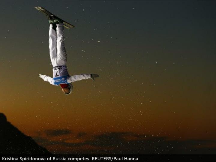 Kristina Spiridonova of Russia contends. REUTERS/Paul Hanna