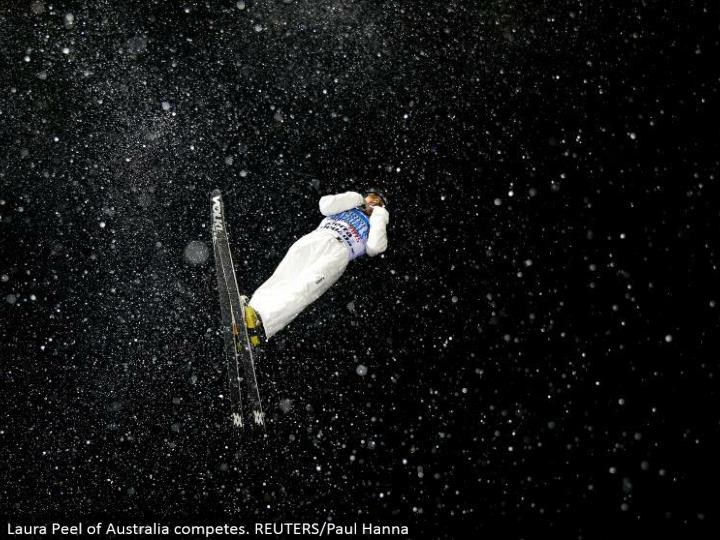 Laura Peel of Australia contends. REUTERS/Paul Hanna