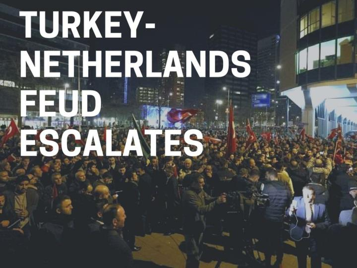Turkey netherlands fight escalates