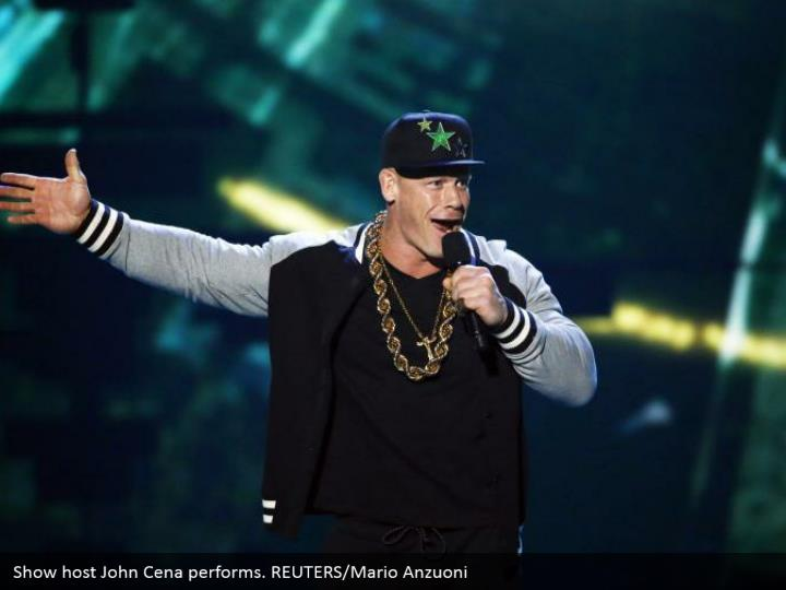 Show have John Cena performs. REUTERS/Mario Anzuoni