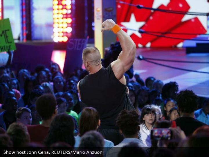 Show have John Cena. REUTERS/Mario Anzuoni