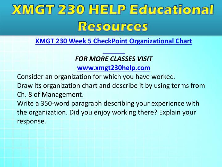 xmgt 230 great job paragraph Xmgt 216 week 1 ethical theories chart $ 999 add to cart xmgt 230 week 1 decision-making process paper xmgt 230 week 7 great job.