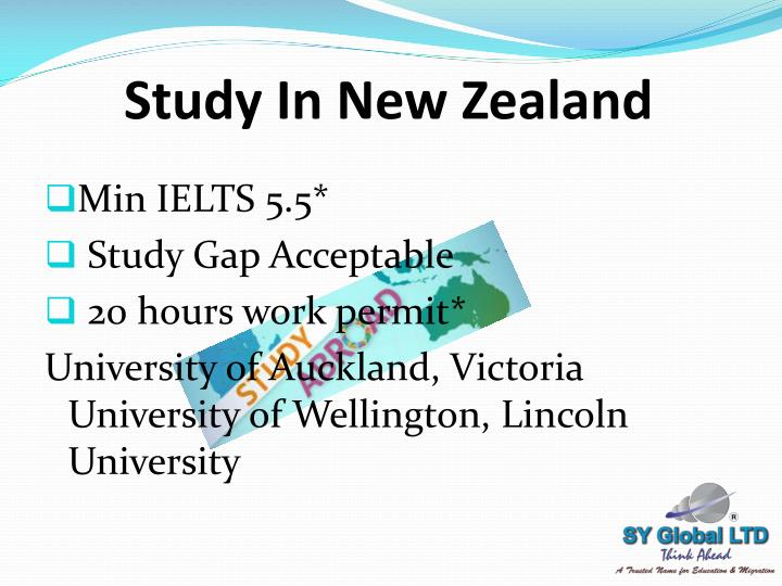 Ppt Study Abroad And Canada Immigration Powerpoint