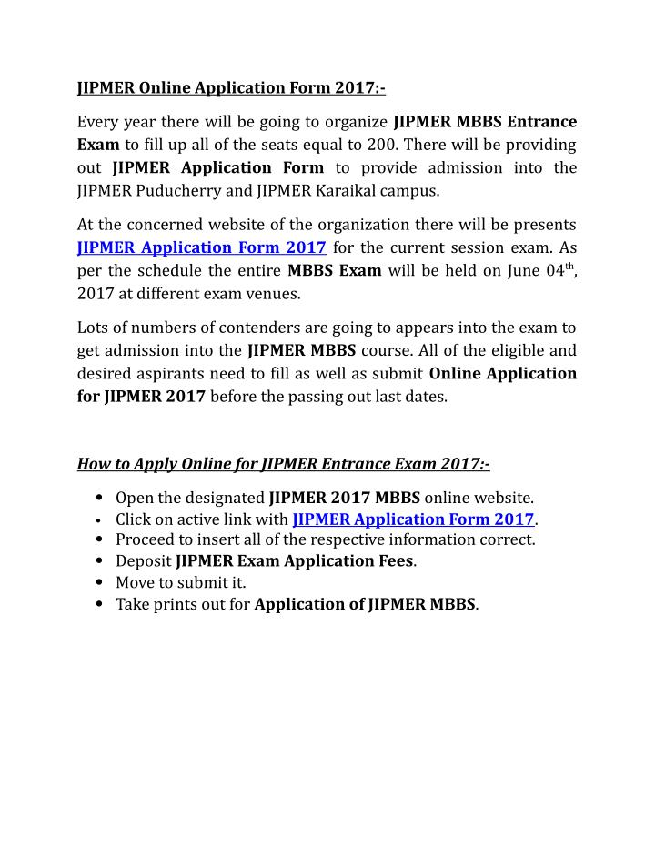 jipmer-online-application-form-2017-n Jipmer Application Form Download on photography release, free printable medical, free blank resume, income tax returns, sbi kyc application, driving licence, digital legal, iap membership application, nehawu application,