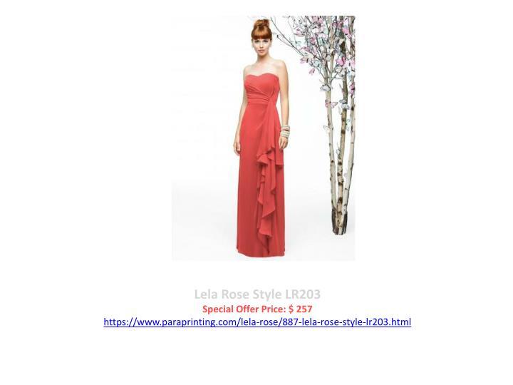 Lela Rose Style LR203