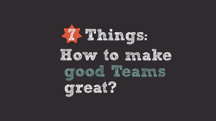 7 Things: