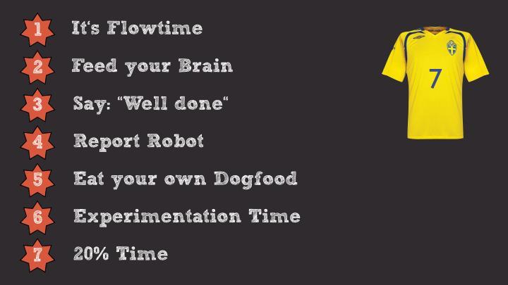 It's Flowtime