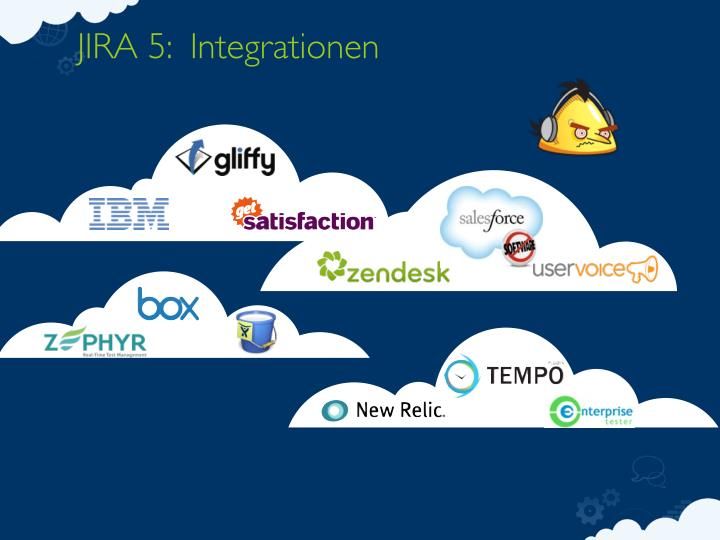 JIRA 5:  Integrationen