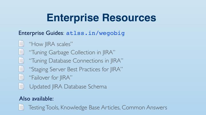 Enterprise Resources